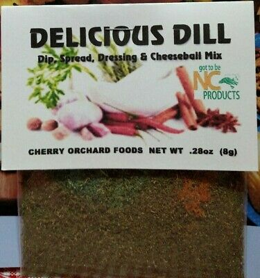 Delicious Dill Dip Mix, makes dips, spreads, cheese balls &salad - Dill Dip Mix