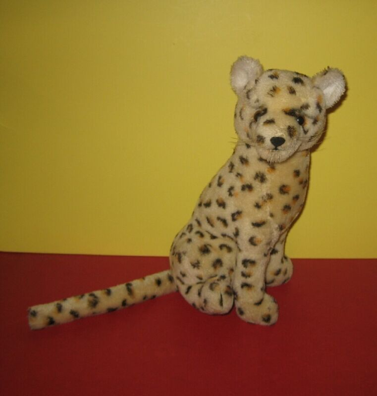 "1976 13"" Dakin Sitting Cheetah Nature Babies Stuffed Plush"