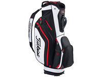 New 2016 TITLEIST Lightweight Cart Bag (black,white,red) BRAND NEW
