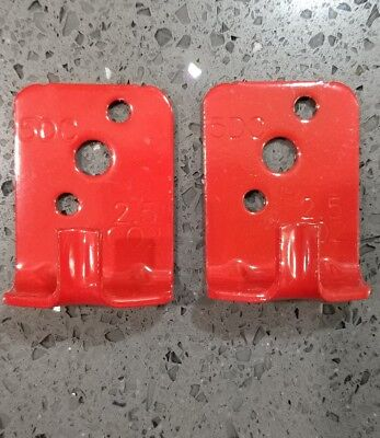 2-wall Hooks Universal Mount Brackethanger For 5 Lb Fire Extinguisher New
