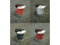 Various coloured ribbon