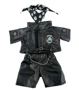 Biker Bear Outfit clothing fits Build a Bear clothes fit 15in Bears