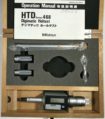Mitutoyo 468-922 Digimatic Holtest Internal Micrometer .5-.812.7-20.32mm