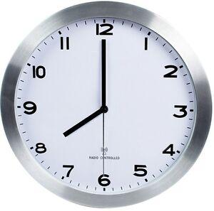 Reloj de pared 30cm radiocontrolado para comedor cocina for Relojes de cocina modernos