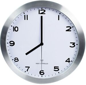 Reloj de pared 30cm radiocontrolado para comedor cocina - Relojes pared cocina ...