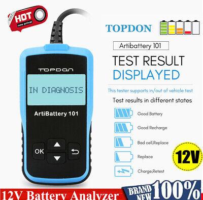 Topdon 12V Car Battery Load Tester Charging System Analyzer Diagnostic Scan