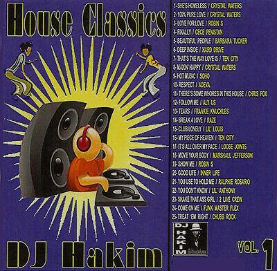 Best Of House Classics Vol.1 DJ Hakim Mix Edition Mixtape