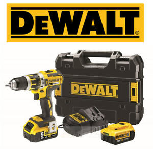 DeWalt XR DCD795 18v Brushless Cordless Combi Drill 2x Li-Ion Battery Kit