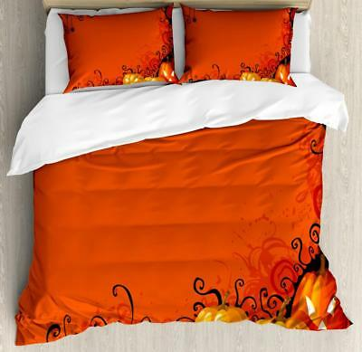 Spider Web Duvet Cover Set Twin Queen King Sizes with Pillow