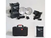 ELINCHROM Ranger Quadra RX Portable + 2 Quick Torches A + Softbox Adapter