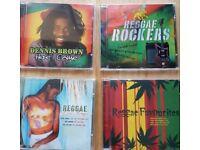 Reggae cds x4