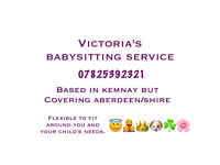 Babysitter/ childminder/nanny aberdeen/shire