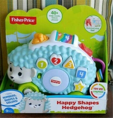 Fisher-Price Linkimals Happy Shapes Hedgehog Baby Musical TOY