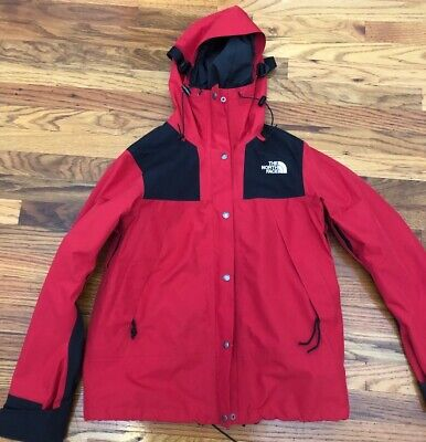 Womens The North Face 1990 Mountain Gore Tex Ski Jacket GTX - TNF Red Black M