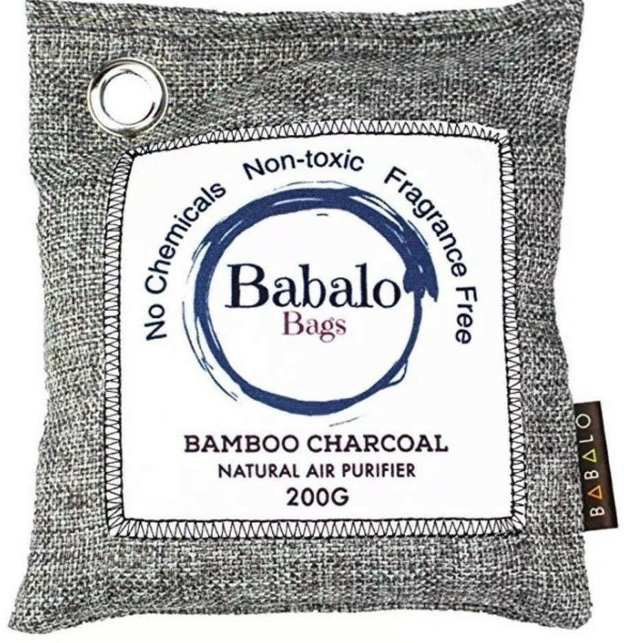 Bamboo Charcoal Air Purifying Bag Odor Absorber Cars Home Closets Dehumidifier
