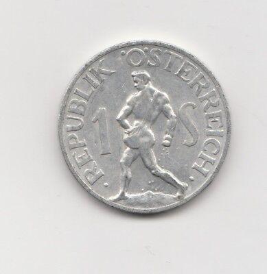 1 schilling Österreich 1952  (1584)