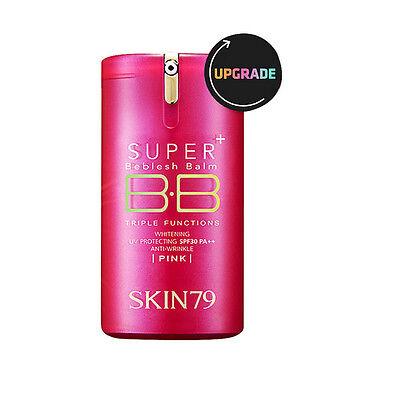 SKIN79 HOT PINK Super Plus Triple Function Beblesh Balm SPF30 PA++ 40g Renewal