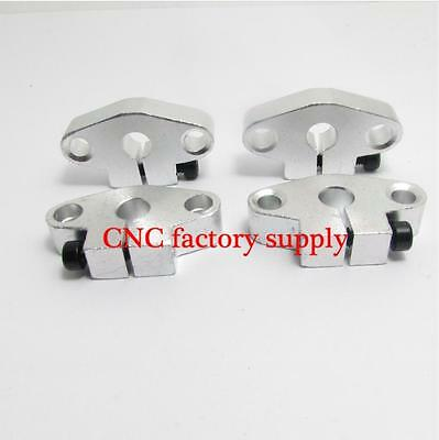 1pcs SHF8 8mm Flange Mount Linear Rail Shaft Support Linear Rod shaft Support