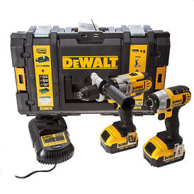 Dewalt Brustless DCF885 + DCD985 duo (DCK290M2) Combination Drill + Impact Driver