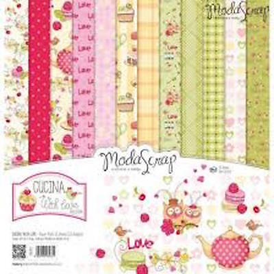 """Moda Scrap Cucina with love collection 6""""x6"""" paper collection"""