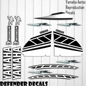 Yamaha Aerox 2006 Replica Decals Stickers Graphics Kit Scooter Reproduction