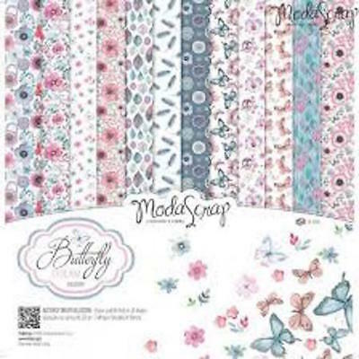 "Moda Scrap Butterfly Dream  6""x6"" paper collection"