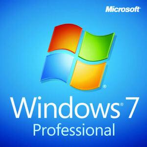 Microsoft Windows 7 Professional 32/64 BIT Full Version SP1 + Product Key + HD