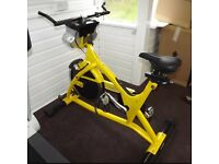 Trixter commercial spin bike x-bike can deliver
