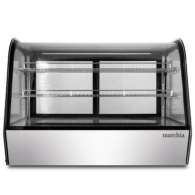 Marchia Mdc161 36 Refrigerated Countertop Bakery Display Case With Led