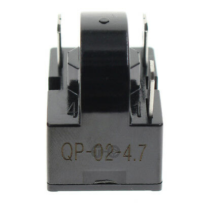 New QP2-4.7 Start Relay PTC For 4.7 Ohm 3Pin Vinotemp EdgeStar Summit Whirlpool