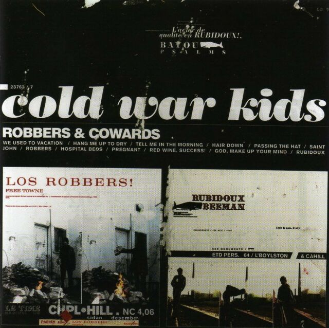 COLD WAR KIDS - ROBBERS & COWARDS NEW CD