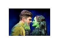 "4 tickets for ""WICKED"" 7th July 2017 London"