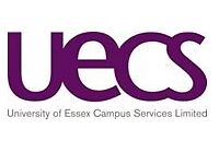 REQ00207 Catering and Events Assistant, UECS