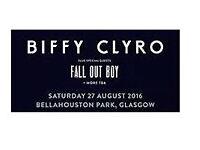 Biffy Clyro + Fall Out Boy Glasgow