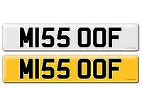 M155 OOF...PRIVATE PERSONAL CHERISHED REGISTRATION NUMBER PLATE ON RETENTION..
