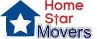 Home star movers 647-995-6683 48$/hour 2 men and truck