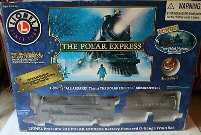 NEW The Polar Express Lionel G-Gauge train set Christmas Holidays NIB