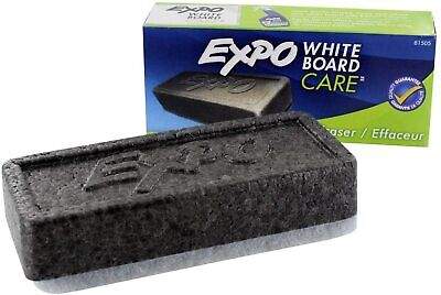 2 Pack Expo Block Eraser 81505 Dry Erase Whiteboard Board Eraser Soft Pile Loc9a