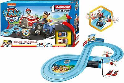 Pfote Patrol Elektronische Carrera Rennsport System Track & 2 Autos Toy Spielset