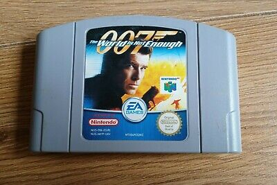 007: The World is Not Enough - Nintendo N64 PAL CART ONLY!