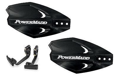 Powermadd Power X Series Handguards Guards Mount Kit BLACK All Sport ATVs