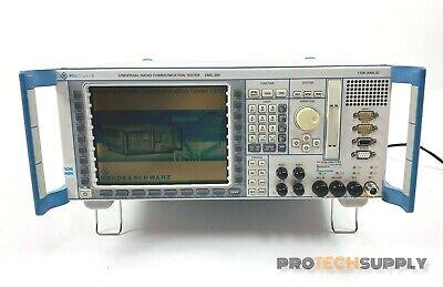 Rohde Schwarz Cmu200 Universal Communication Tester
