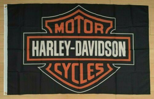 Harley Davidson 3x5 ft Flag Banner Car Garage Motorcycles