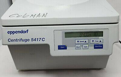 Eppendorf 5417c Centrifuge W F45-30-11 Rotor Lid Error Code On Device