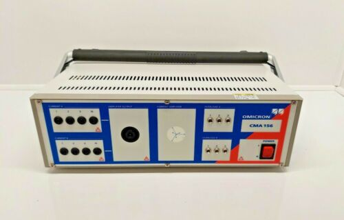 Omicron CMA 156 Six Phase Current Amplifier BR