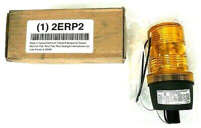 New Zoro 2erp2 - Warning Light Strobe Tube Amber 120vac 0.08 A 2.0 Joules