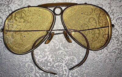 VINTAGE GOLD TONE RAY BANS AVIATOR EYEGLASS (Antique Ray Bans)
