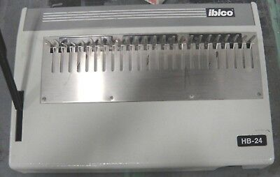 Ibico Hb 24 Manual Plastic Comb Binder