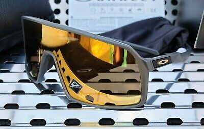 New Oakley SUTRO 9406-0537 Sunglasses Matte Carbon w/ Prizm 24k Iridium Lenses