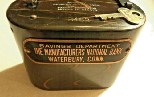 BANKERS SERVICE CO. MANUFACTURERS NATIONAL BANK of WATERBURY, CONN  1 KEY # 3463